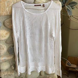 525 America holey sweater